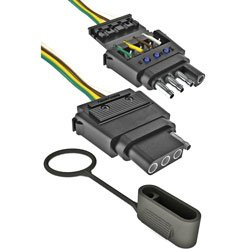 Reese 85353 Professional Series 4-Way Flat Insta-Plug Multi-Colored