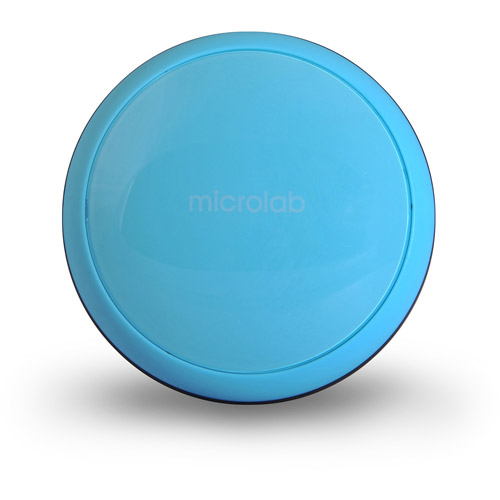 Microlab M102 Daisy-Chain Multi-Color Compact Mini Stereo Speaker, Blue