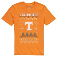 Tennessee Volunteers Youth Light the Tree Ugly Christmas T-Shirt - Tennessee Orange