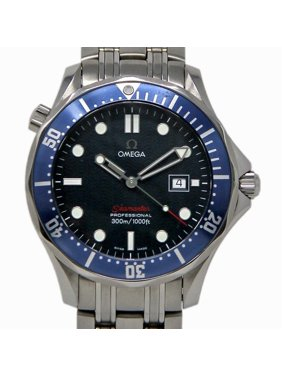Pre-Owned Omega Seamaster 2221.80. Steel  Watch (Certified Authentic & Warranty)