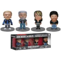 Wacky Wobbler: Sons Of Anarchy Mini 4 Pack (Funko)