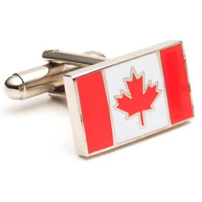 Cufflinks PD-CAN-SL Canadian Flag Cufflinks
