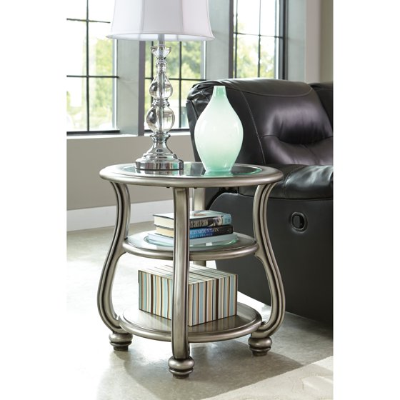 T517 0 Ashley Furniture Nestor: Signature Design By Ashley Coralayne Round End Table