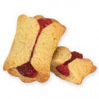 Cookies United Sugar Free Raspberry Pocket Cookies 5 (1 Lb Christmas Cookie Tin)