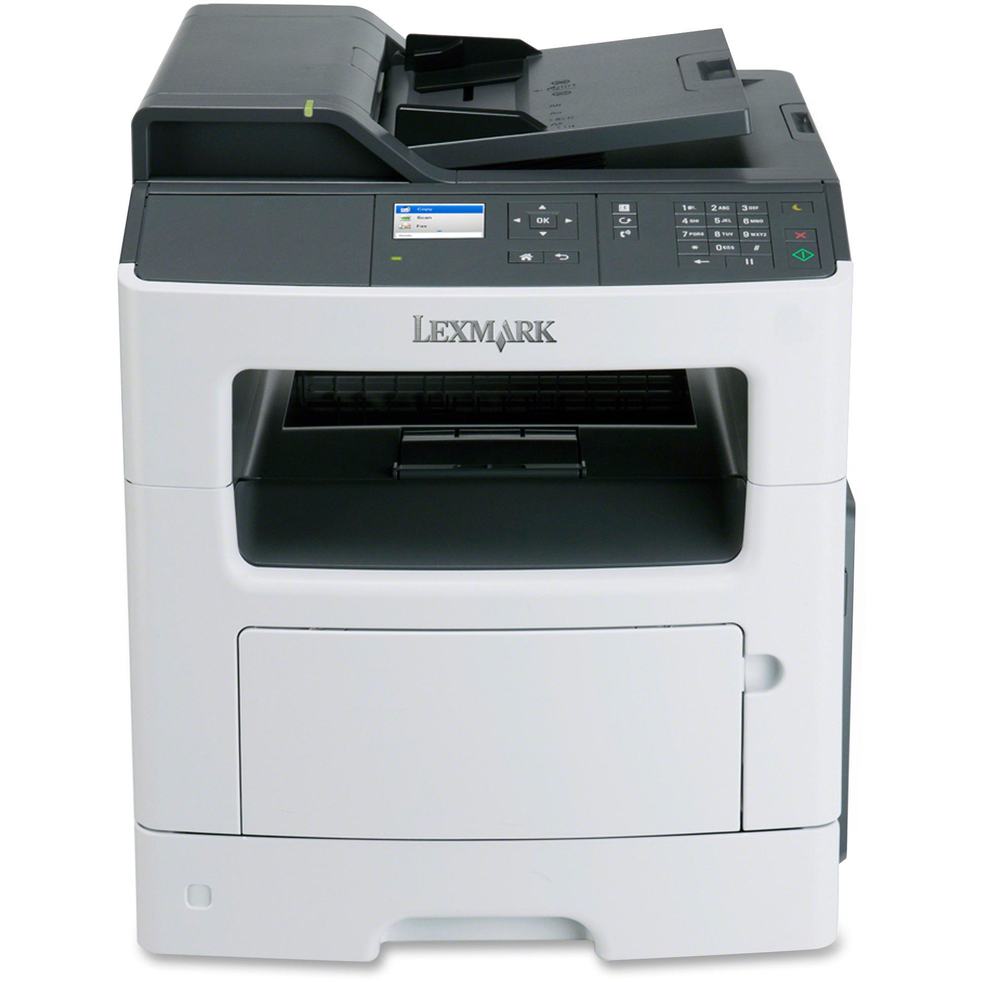Lexmark MX310DN Laser Multifunction Printer - Monochrome ...