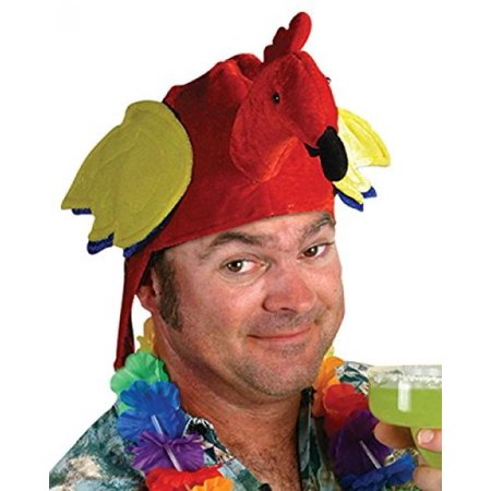 Pirate Parrot Hat (Red) Party Accessory