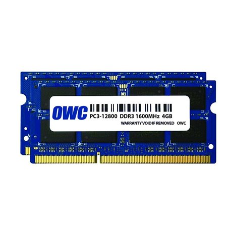 OWC / Other World Computing 8GB (2x 4GB) 1600MHz 204-Pin DDR3L SO-DIMM (PC3-12800) Memory Upgrade Kit for MacBook Pro, iMac with Retina 5K, Mac mini a