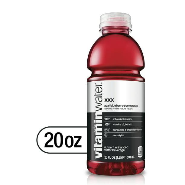 vitaminwater XXX Acai-Blueberry-Pomegranate - 20.0 FL OZ