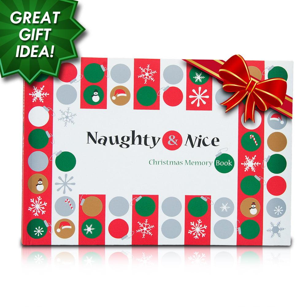 Naughty & Nice Christmas Memory Book- XSDP -32014 - Capture those ...