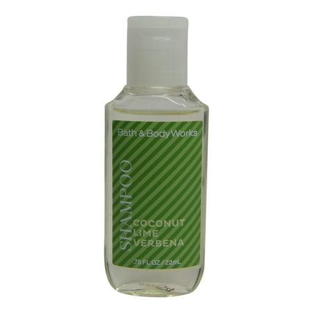 Bath and Body Works Volumizing Coconut Lime Verbena Shampoo. Lot of 24 each 0.75oz (Bath & Body Works Shampoo)