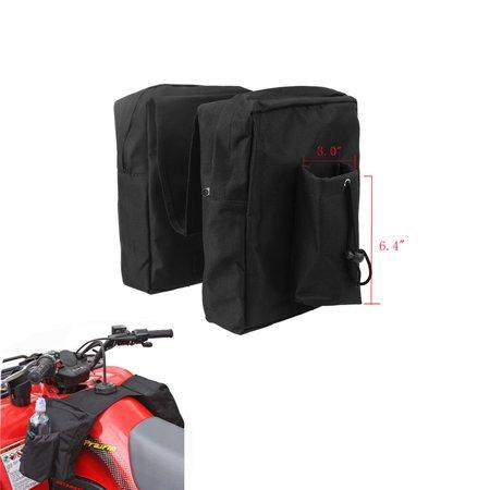 Saddlebag Luggage (Gas Tank Saddlebag Luggage Storage Saddle Bag For ATV UTV Dirtbike)