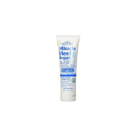 Miracle Heel Repair Cream 4 Oz Soothe Cracked, Dry, Rough, Hard Heels and Restore Soft Skin Instantly! If Your Heels Are in Pain, So Rough They Snag Your Stocking, You Have to Try Miracle Heel (Skin So Soft For Dogs Dry Skin)