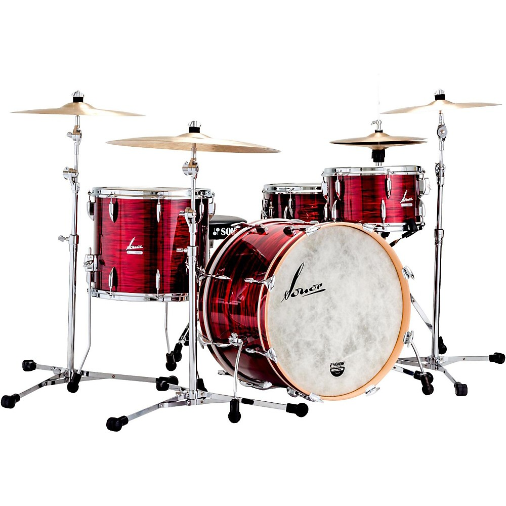 Sonor Vintage Series 3-Piece Shell Pack Vintage Red Oyster by Sonor