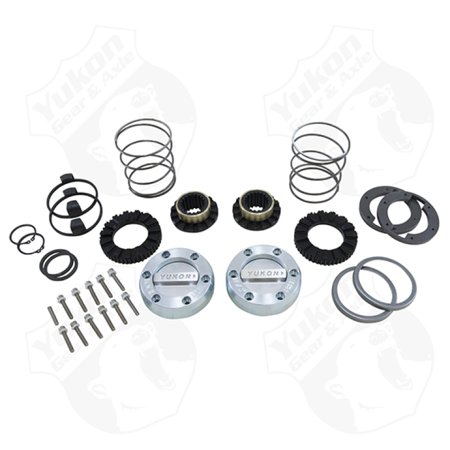 Yukon Gear Hardcore Locking Hub Set For Dana 44 / GM & Ford 1/2 & 3/4 Ton / 19 -
