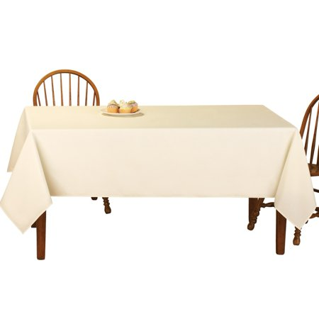 (Basic Rectangular Tablecloth Table Linens, 60