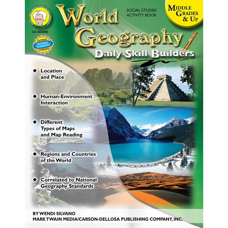 Mark Twain World Geography Daily Skill Builders by Carson-Dellosa Publishing LLC