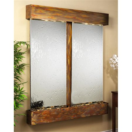Adagio CFS1040 Cottonwood Falls - Silver Mirror Wall (Mirror Wall Fountain)