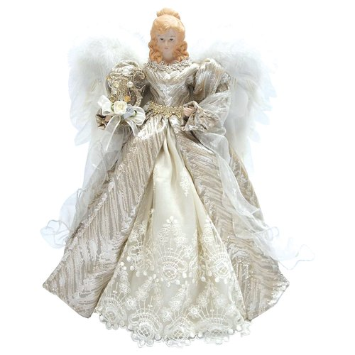 The Holiday Aisle 16'' Elegance Angel Tree Topper