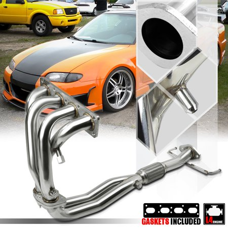 Stainless Steel Exhaust Header Manifold for 93-97 Ford Probe/Mazda MX6 2.0 4Cyl 94 95 96 ()