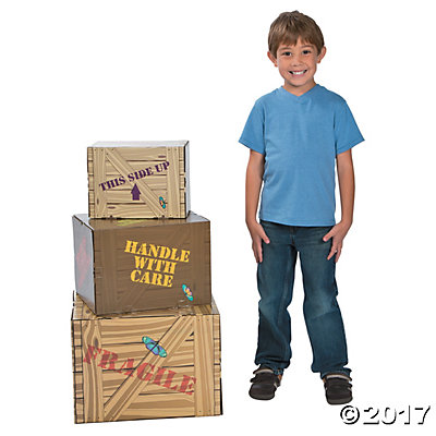 Walk His Way Crate Cardboard Stand-Ups