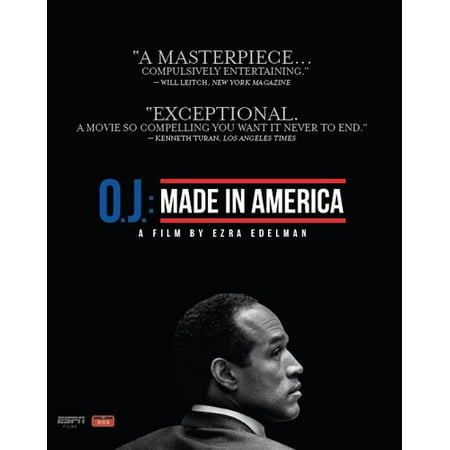 ESPN Films 30 for 30: O.J.: Made in America (Theatrical Edition) (DVD + Blu-ray) - Halloween Films For Family