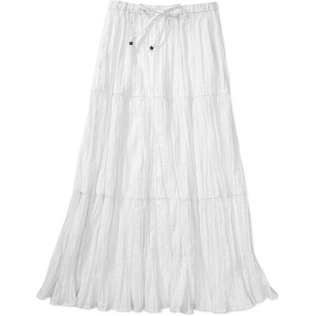 White Stag - Women's Tiered Skirt - Walmart.com