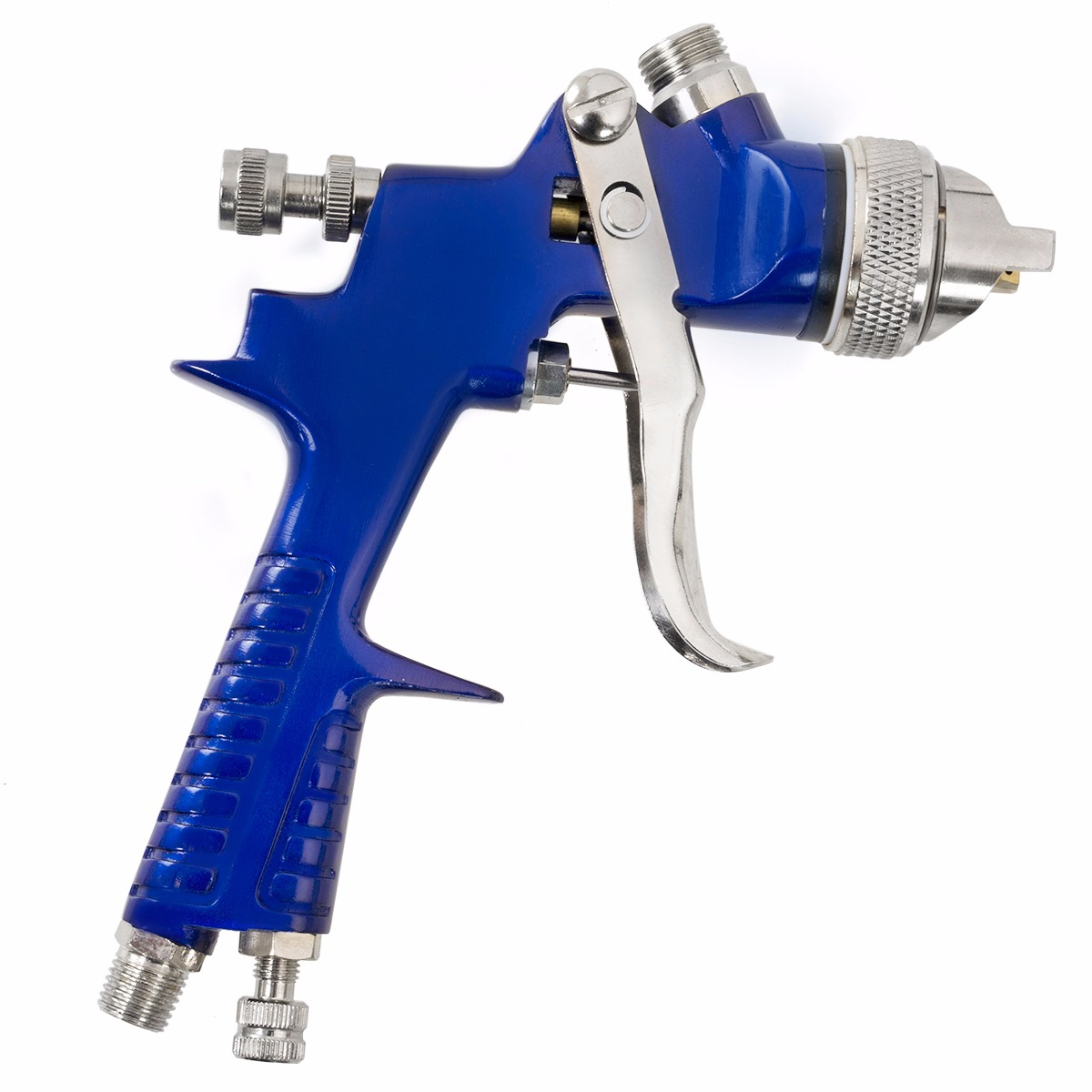 1.7mm Nozzle HVLP Gravity Feed Paint Air Spray Gun, with Plastic Cup