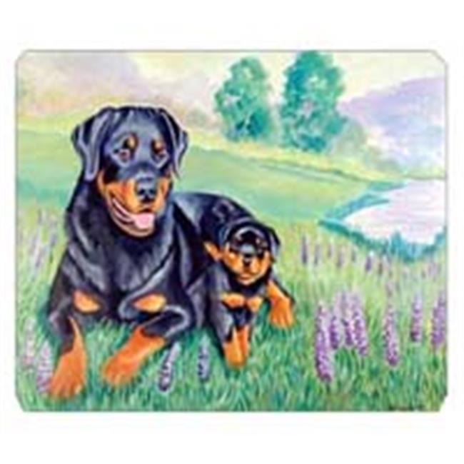 Carolines Treasures 7141MP 8 x 9.5 in. Rottweiler Mouse Pad, Hot Pad Or Trivet - image 1 de 1