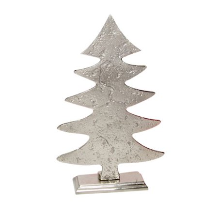 The Holiday Aisle Cast Aluminum Christmas Tree Walmart Com