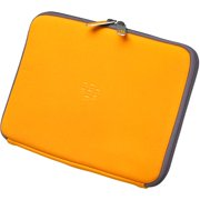 BlackBerry Zip Sleeve - Protective sleeve for tablet - neoprene - fresh orange - for PlayBook