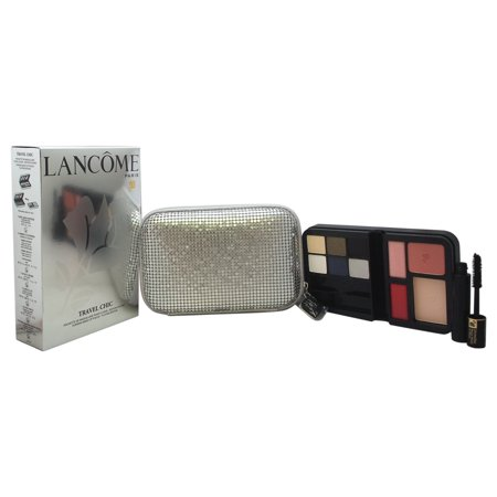 Lancome Travel Chic Evening Make-Up Pouch, Plantine Edition Eye Shadow Palette, 15 Ct - Biker Chick Makeup