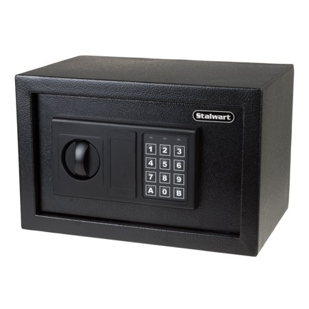 Stalwart Premium Digital Steel Safe with Electronic Lock,