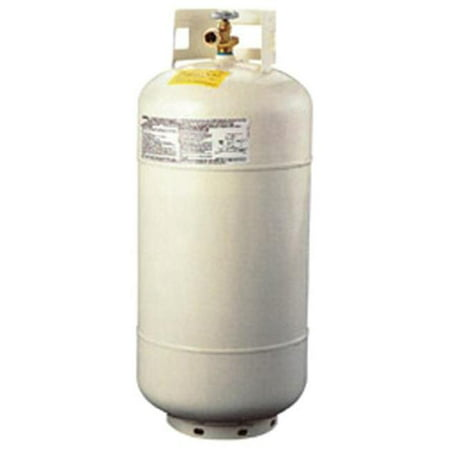 MANCHESTER 1220TC4 Propane Tank 40 Pound Capacity White (Used Propane Tanks For Sale In Pa)