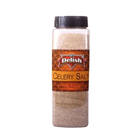 Celery Salt by Its Delish, 32 Oz. Large Jar