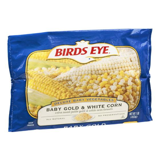 Fine Birds Eye Deluxe Baby Vegetables Baby Gold White Corn 1 0 Cjindustries Chair Design For Home Cjindustriesco