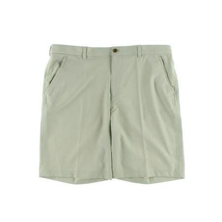 Izod Mens Moisture Wicking Classic Fit Khaki Shorts - Walmart.com