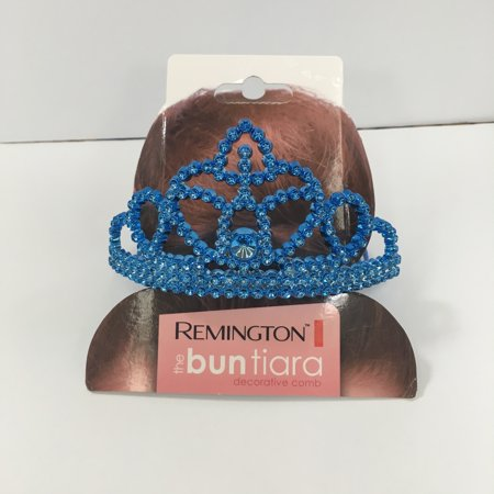 (4 Pack) Remington Rem 1 Ct Tiara, Astd Silver, Pink - Decorative Crowns