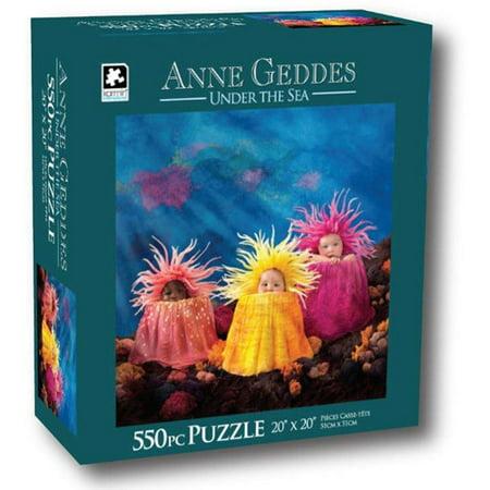Anne Geddes 550-Piece Puzzle, Underwater Babies