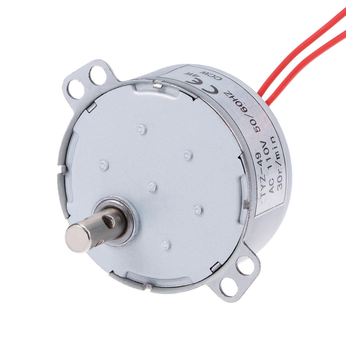 110V 50/60Hz 30RPM CCW AC Synchronous Motor Turntable Gear Box for Microwave