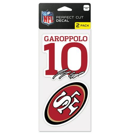 Jimmy Garoppolo San Francisco 49ers WinCraft 2-Pack 4