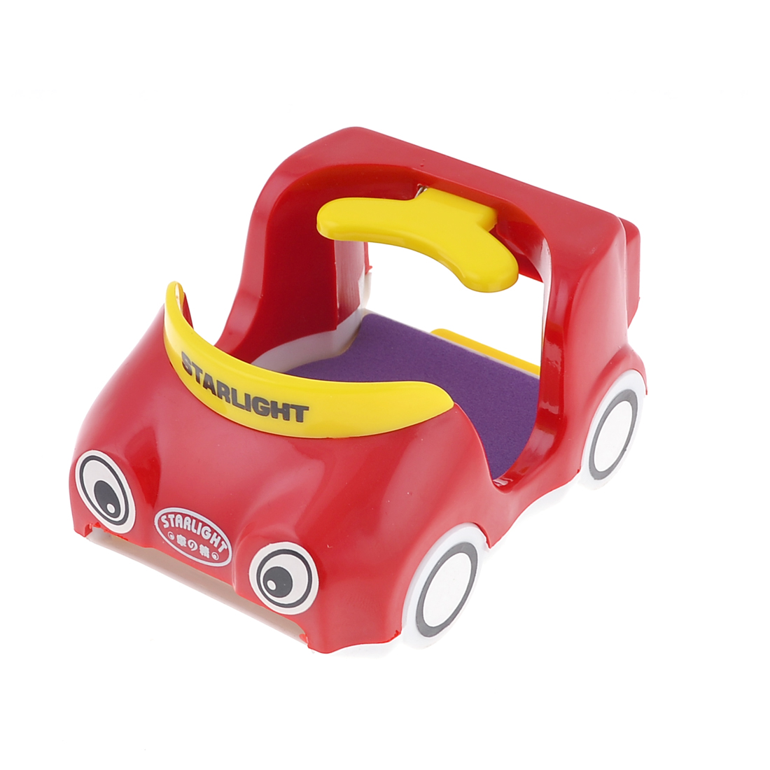 Portable Plastic Cartoon Car Designed Car Cup Holder for Drink Water Red
