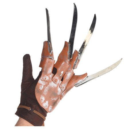 Freddy Krueger Halloween Glove for Adults, A Nightmare on Elm Street, One Size - Freddy Krueger Glove