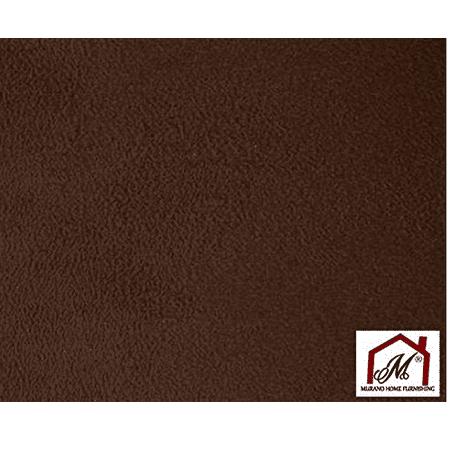 Chocolate Suede Microsuede Fabric Upholstery Drapery Fabric ( 1 yard )