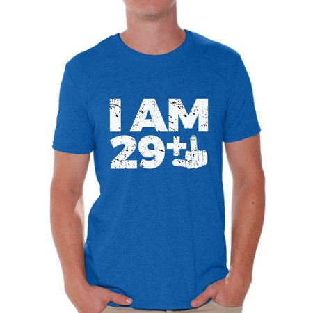 Awkward Styles Thirty Birthday Shirts For Men I Am 29 Mens Tshirt Funny Bday Outfit Years Old T Him 30th Party Tee Shirt Tops