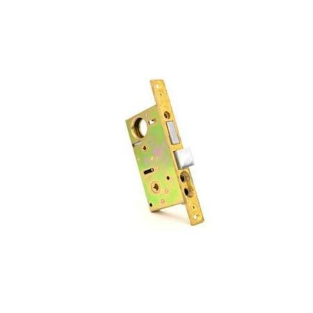 (Baldwin 6847112L Left Hand 2 in. Interior Mortise Lock Knob Lever - Venetian Bronze)