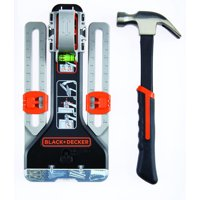 BLACK+DECKER MarkIT Picture Hanging Kit with Hammer