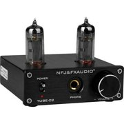 FX-Audio TUBE-02 Tube Headphone Amplifier - Black