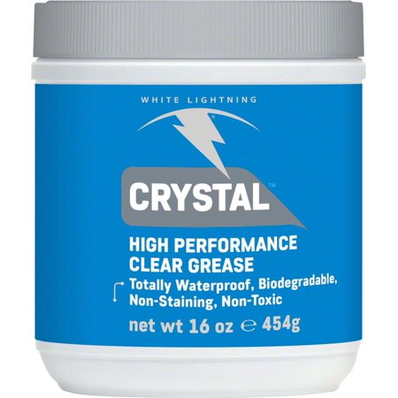 White Lightning Crystal Grease, 16oz Tub