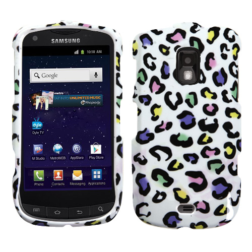 Samsung R940 Galaxy S Lightray 4G/R930 Galaxy S Aviator MyBat Protector Case, Colorful Leopard