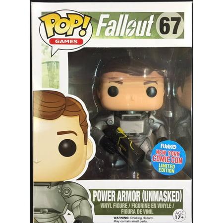 Funko Pop Figure 67 Fallout Power Armor (unmasked) York Comic Con Exclusive (Power Armor Fallout)